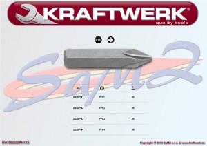 "Nárazový 5/16"" bit phillips PH 4 Kraftwerk 2035PH4"