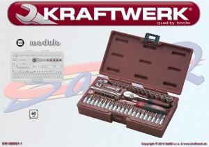 "Gola sada 1/4"" Kraftwerk MODULO 6001-1 - 50ks"