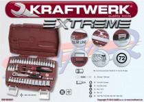 "Sada náradia Kraftwerk EXTREME  1/4"" - 4031 - 42ks"